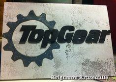 Handmade Top Gear card (gift certificate)