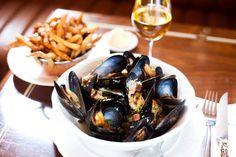 Moules cidre et frites - magari davanti al mare di saint malo ...cosa volere di più?