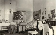 The Grand Duchesses bedroom in the Governor's House at Tobolsk 1917.A♥W