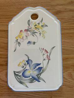 Villeroy & Boch, smørebrikke | FINN.no Fine Porcelain, Plates, Tableware, Licence Plates, Dishes, Dinnerware, Griddles, Tablewares, Dish