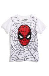 I wish Nordstrom still had this  Spiderman shirt!