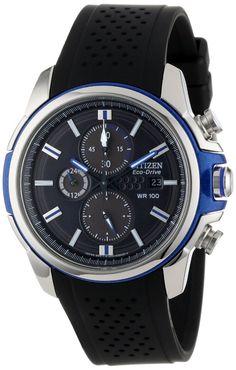 Citizen men watches : Citizen Men's Drive from Citizen Eco-Drive AR 2.0 Stainless Steel Chronograph Watch