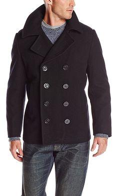 55c69f7972ce Usn Pea Coat Rev 10 Medium Black Best Price Navy Pea Coat