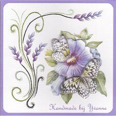 YB 31 Blauwe hibiscus