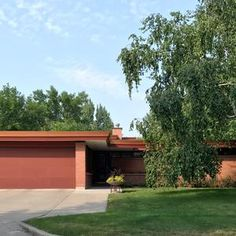 FARGO — A home designed by Frank Lloyd Wright's granddaughter that the city wants to demolish to make way for a dike has been added to the National Register of Historic Places.Owners John and Sherri Stern, who bought the house at 1458 South River Road because it adheres so closely to Wright's design...