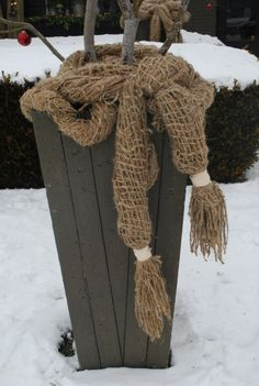 Container scarf - perfect for harsh winters