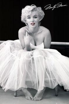 Marilyn Monroe-Ballerina Poster at AllPosters.com