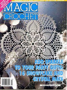 Magic crochet № 152 - Edivana - Picasa Web Albums...patterns in English!
