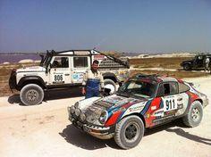 Porsche ready for rally