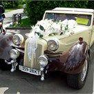 Vintage #wedding car