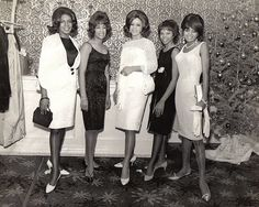 The Supremes 1-5 by Black History Album, via Flickr