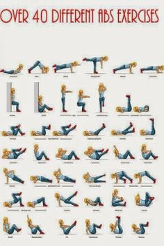 Time to workout and strengthen your core!