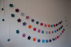 Crochet  Garland Star