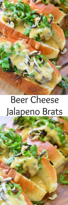 Beer Cheese Jalapeno Brats
