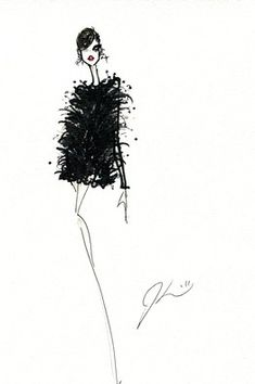 Jason Wu fall 2011 sketch