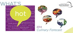 See what chef's think the top trends showing up restaurant menus in 2014 will be. Technology Magazines, Food Technology, Restaurant Trends, Menu Restaurant, Environmental Research, Professional Chef, Food Waste, Health And Nutrition, Seafood