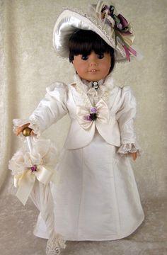 1900s Victorian Design Fits American Girl Samantha Littlecharmersdolldesign | eBay