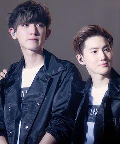 Chanyeol + Suho
