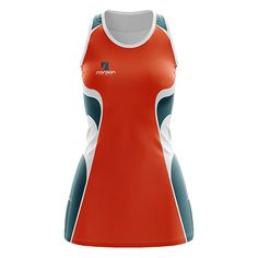 Scorpion Sports are a leading UK supplier of Netball Dresses and leisure garments. Bespoke fully sublimated dresses produced from polyester fabric for comfort and performance. The enclosed dress can be produced in both junior and senior sizes, in any colour scheme required. Ideal for clubs, schools, universities and colleges. For further assistances please contact the Scorpion team on 02476 473647 or email sales@scorpionsports.co.uk