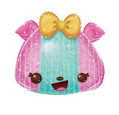 Sparkle Mellie is a Num from Series She is found in Mystery Packs in Series and Series There's no rind or reason to the things she does sometimes. Kawaii Drawings, Cute Drawings, Num Noms Toys, Cookie Swirl C, Fashion Maker, Kawaii Dessert, Kawaii Stickers, Lol Dolls, Little My