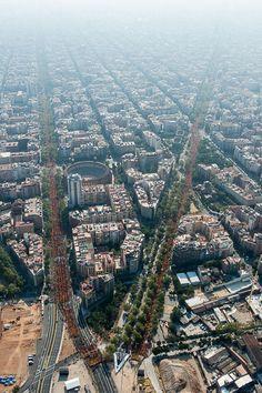 La Via Catalana 2014 des de l'aire Galeria de fotos | Nació Digital
