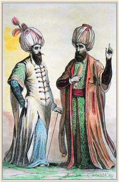 Ottoman Empire Costumes (are those pockets or slits?)