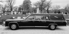 My 87 Cadillac hearse