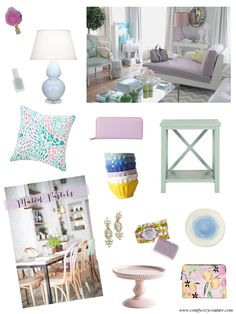 Comfy Cozy Couture | Muted Pastels | Spring Trends 2014