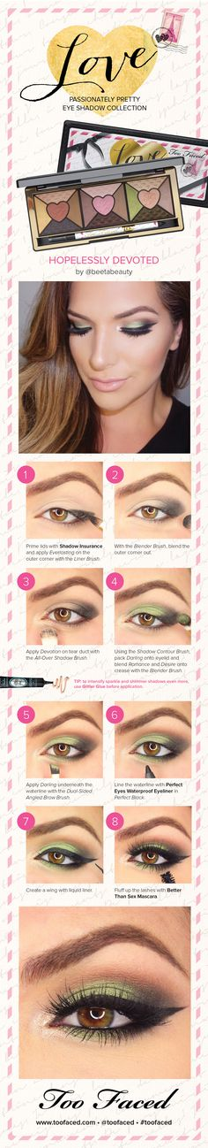 Check out this beautiful how-to look from blogger Beeta Beauty using the new #TooFaced Love Palette. #Sephora #HowTo