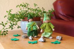 Leprechaun Dolls for Asher and Lucas