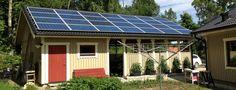 Garage Stallarholmen – Solceller 6,9 kW