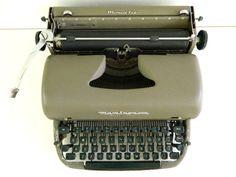 Remington Typewriter Quiet Riter Manual Portable by Rustage, $45.00