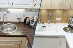 Küchenrenovierung Led Spots, Modern, Sink, Home Decor, Old Kitchen, Simple, Sink Tops, Trendy Tree, Vessel Sink