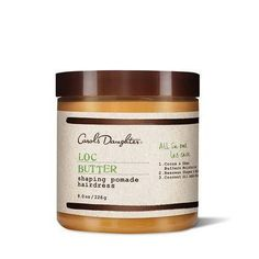 Carol's Daughter Loc Butter Shaping Pomade Hairdress 8 Ounce