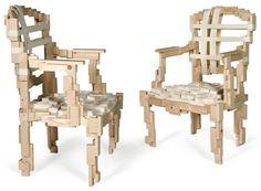 Jurgen Bey,pixel chairs