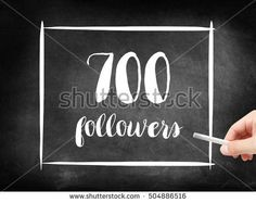 700 followers written on a blackboard Blackboards, Followers, Photo Editing, Royalty Free Stock Photos, Posts, Writing, Illustration, Image, Ideas