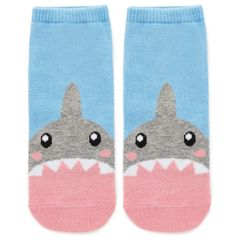 Shark socks that just want to gently chew on your toes. | 29 Absurdly Cute Gifts That No One Could Resist