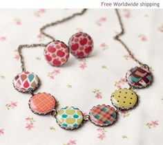 summer pattern jewelry