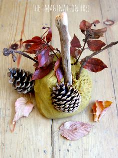 Autumn Spice Playdough (from The Imagination Tree)