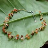 Fair trade necklace from Thailand. Pretty! /want