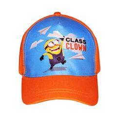Class Clown Orange Minions Baseball Cap