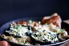 Mo'Beads: Food | Portobello Pilz mit Babyspinat - Lowcarb od...