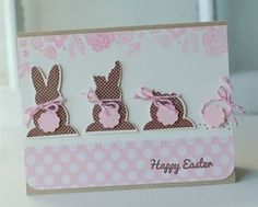 Chocolate Bunnies Card by Betsy Veldman for Papertrey Ink (February 2013)