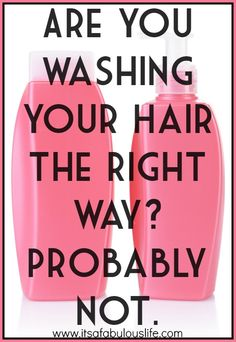 How To Wash Your Hair. I was very skeptical trying this but i did and i can't believe how much better my hair feels it feels cleaner,lighter,silkier and even has more volume. Definitely going to do this every time i wash it from now on Hair Makeup, Makeup Stuff, Beauty Stuff, Natural Hair Styles, Long Hair Styles, Dream Hair, Health And Beauty Tips, Hair Health, Homemade Beauty