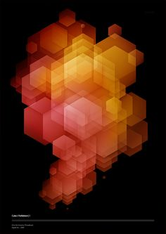 CUBE A beautiful design by Chris De Vincenzo on Behance Graphic Design Typography, Graphic Design Illustration, Graphic Art, Design Art, Print Design, Plakat Design, Art Graphique, Geometric Art, Graphic Design Inspiration