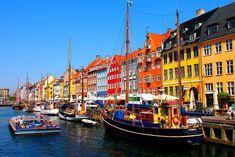 Nyhavn-Copenhague-Danemark