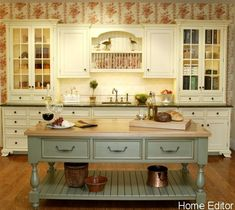 so pretty       6 Affordable Ways To Create A Shabby Chic Kitchen