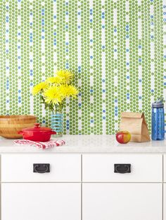 Penny tiles are making a comeback in the contemporary tile world. Although they've been around for over a hundred years, penny round tiles haven't taken