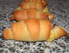 Horn med skinke og ost…