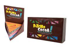 Psycho Cocoa Packaging by Jackie Zawislak, via Behance